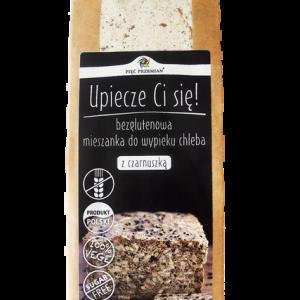 Mieszanka chleba bezglutenowego z czarnuszką 500 g