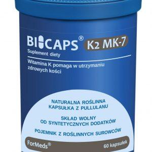 BICAPS® K2 MK-7 ilość porcji: 60