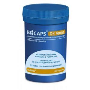 BICAPS D3 4000 (120 KAPSUŁEK) FORMEDS