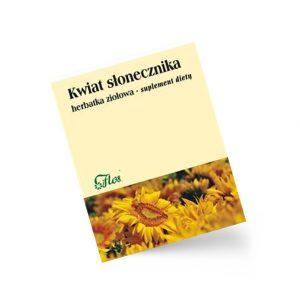 Słonecznik kwiat, herbatka ziołowa, suplement diety 50 g