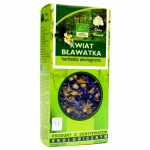 Bławatek kwiat, herbatka ziołowa, suplement diety – 25 g