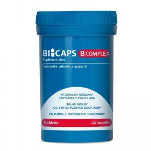 BICAPS B COMPLEX – KOMPLEKS WITAMIN B, 60 KAPSUŁEK FORMEDS