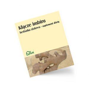 Imbir kłącze, herbatka ziołowa, suplement diety 50 g