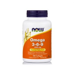Omega 3-6-9, 1000 mg – 100 kaps  suplement diety