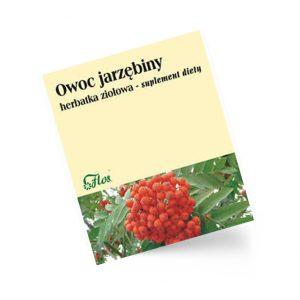 Jarzębina owoc, herbatka ziołowa, suplement diety 50 g