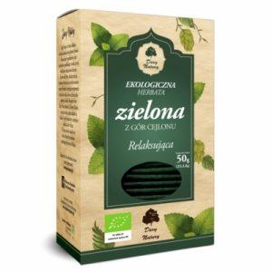 Herbata zielona relaksująca eko 25x2g