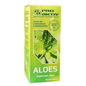 Aloes – sok wolny od chemicznych konserwantów 500 ml