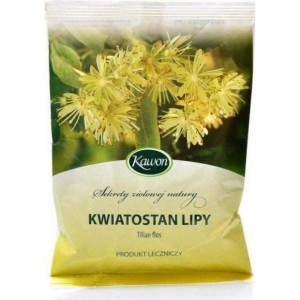 Lipa kwiatostan 50 g – środek spożywczy